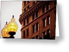 Boston Gas Light Greeting Card
