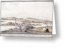 Boston Harbor, 1775 Greeting Card