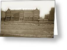 Boston Museum Of Fine Art On Copley Square Massachusetts Circa 1900 Greeting Card