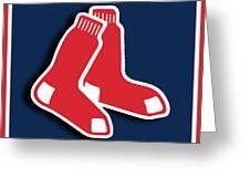 Boston Red Socks Greeting Card