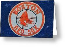 Boston Red Sox Greeting Card by Dan Sproul