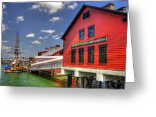 Boston Tea Party Museum 3 Greeting Card