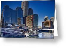 Boston-teaparty Greeting Card