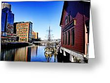 Boston-teaparty V2 Greeting Card
