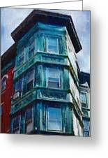 Boston's North End Greeting Card