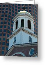 Boston's North Meeting House Greeting Card