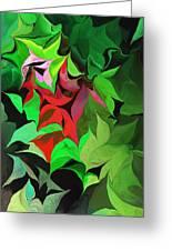 Botanical Fantasy 071613 Greeting Card
