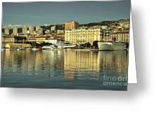 Botel Rijeka  Greeting Card