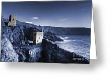 Bottallack In Blue Greeting Card