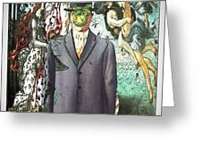 Botticelli Son-of-man 1  Greeting Card