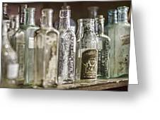 Bottle Collection Greeting Card