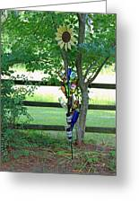 Bottle Tree Greeting Card