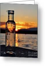 Bottled Sun Greeting Card