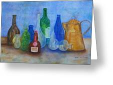 Bottles Collection Greeting Card