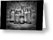 Bottles Greeting Card