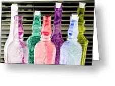 Bottles Up - Photopower 295 Greeting Card