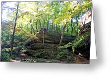 Bottom Of Devil's Punchbowl Wildcat Den Greeting Card