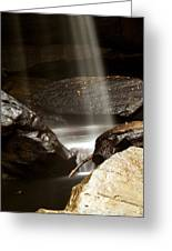 Bottom Of Eagle Falls Greeting Card