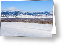 Boulder Colorado Greeting Card