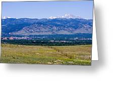 Boulder In The Summertime Greeting Card