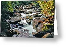 Boulder Stream Greeting Card