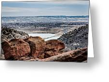 Boulders At Red Rocks Greeting Card