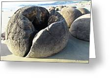 Boulders Greeting Card by Joyce Woodhouse