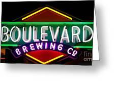 Boulevard Brewing Greeting Card