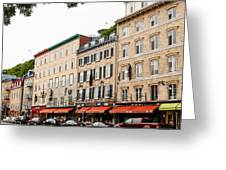 Boulevard Champlain Street Scene  Greeting Card