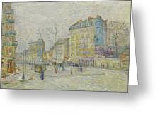 Boulevard De Clichy Greeting Card