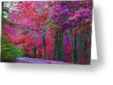 Bountiful Color Greeting Card