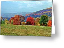 Bounty Of The Hills Greeting Card