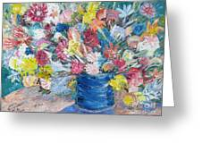 Bouquet 1 - Sold Greeting Card