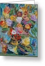 Bouquet 2 - Sold Greeting Card