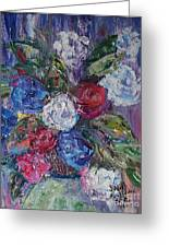 Bouquet 4 Greeting Card