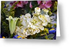 Bouquet Flower Greeting Card