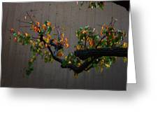 Bouquet From Autumn Leaves.three. Greeting Card