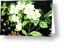 Bouquet In White Greeting Card