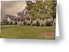 Bourbeau Custom Homes Greeting Card