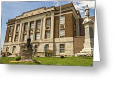 Bourbon County Courthouse 4 Greeting Card