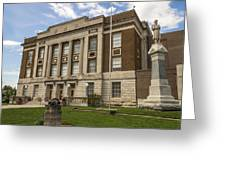 Bourbon County Courthouse 5 Greeting Card