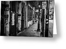 Bourbon Street Diva Greeting Card