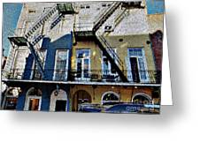 Bourbon Street Firescapes Greeting Card