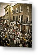 Bourbon Street Party Greeting Card