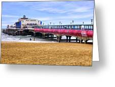 Bournemouth Pier Greeting Card
