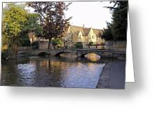 Bourton On The Water 5 Greeting Card