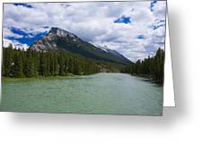 Bow River - Banff Greeting Card