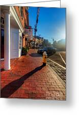 Bow Street Shops Greeting Card