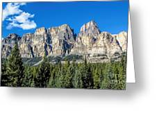 Bow Valley Greeting Card