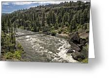 Bowl And Pitcher Area - Riverside State Park - Spokane Washington Greeting Card
